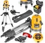 LETA Niwelator laserowy laser + statyw (długość fali lasera: 635mm) 21777665