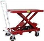LIFERAIDA Wózek platformowy nożycowy (udźwig: 500 kg, wymiary platformy: 1010x520 mm, wysokość podnoszenia min/max: 435-1000 mm) 0301622