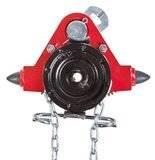 Wózek jednobelkowy z napędem ręcznym - wersja przeciwwybuchowa (wysokość podnoszenia: 3m, szerokość stopy belki: 82-226mm, udźwig: 3,2 T) 22076981