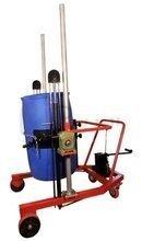 Wózek podnośnikowy ręczny z przechyłem do beczek plastikowych (udźwig: 300 kg) 03076051