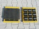 Wózek stały 9 rolkowy, rolki: 9x nylon (nośność: 6 T) 12235596