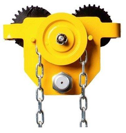 22070025 Wózek jezdny (udźwig: 3000 kg, długość łańcucha: 3m, szerokość profilu: 74-220 mm)