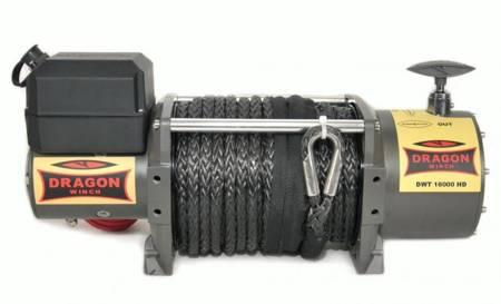 55972513 Wyciągarka samochodowa Dragon Winch Truck DWT 16800 HD S 24V, z liną syntetyczną w oplocie 21m, hamulec automatyczny (udźwig: 16 800 lb/ 7 620 kg, silnik: 7,8KM)
