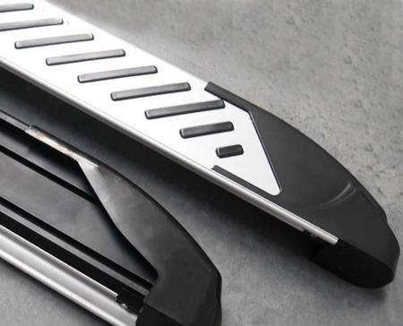 DOSTAWA GRATIS! 01656360 Stopnie boczne, paski - Toyota Rav4 5D 2013+ (długość: 171 cm)