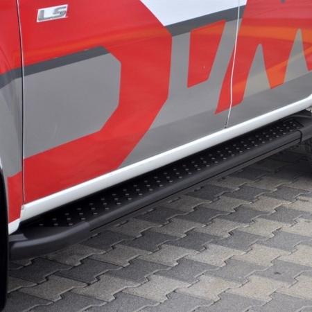 DOSTAWA GRATIS! 01665285 Stopnie boczne, czarne - Toyota Rav4 5D 2001-2006 (długość: 161 cm)