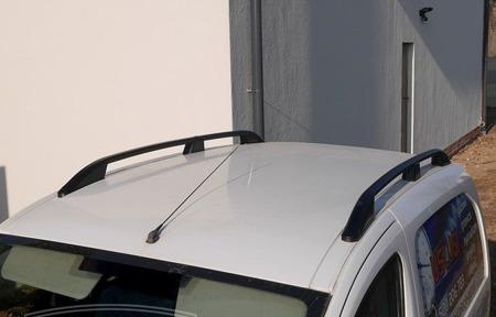 DOSTAWA GRATIS! 01672155 Relingi dachowe do Volkswagen Caddy Maxi ALU long