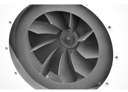 DOSTAWA GRATIS! 02869843 Wentylator promieniowy (max. wydajność powietrza: 7500 m3/h, moc silnika: 4 kW)