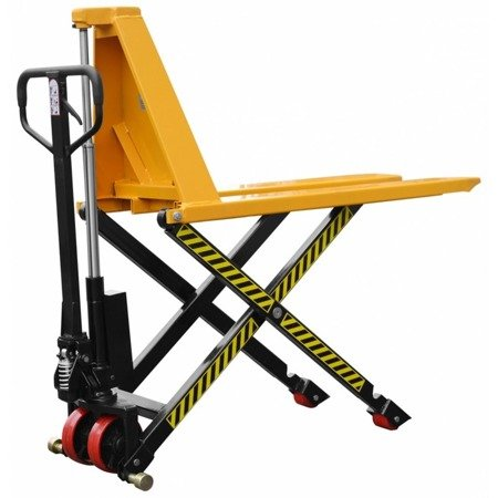 DOSTAWA GRATIS! 02869878 Nożycowy wózek paletowy (udźwig: 1000 kg, długość wideł: 1150mm, wysokość podnoszenia: 900mm)