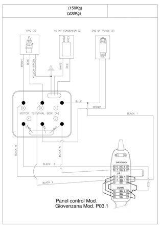 DOSTAWA GRATIS! 08126407 Wciągarka elektryczna linowa budowlana + lina 30m + sterowanie ręczne 1,5m (udźwig: 150 kg)