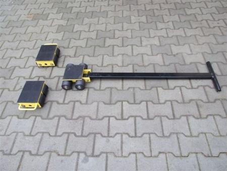 DOSTAWA GRATIS! 12235618 Zestaw wózków, rolki: 12x nylon (nośność: 12 T)