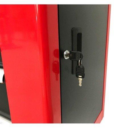 DOSTAWA GRATIS! 16069996 Wózek, szafka narzędziowa, 7+1 szuflad (wymiary: 970x840x460 mm)
