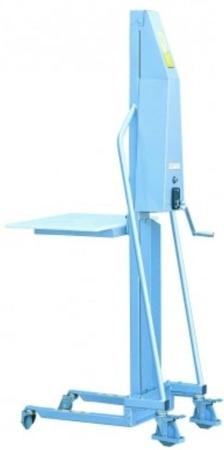 DOSTAWA GRATIS! 310411 Wózek podnośnikowy (udźwig: 200 kg, wymiary wideł: 400x330x40 mm, wysokość podnoszenia min/max: 130-1500 mm)