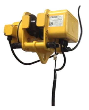 DOSTAWA GRATIS! 33972853 Wciągarka bramowa skręcana miproCrane DELTA 300, wciągnik łańcuchowy elektryczny z wózkiem + kaseta (udźwig: 1600 kg)