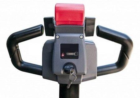 DOSTAWA GRATIS! 62666844 Wózek paletowy elektryczny, elektryczna jazda i podnoszenie (udźwig: 1500kg, długość wideł: 850mm)