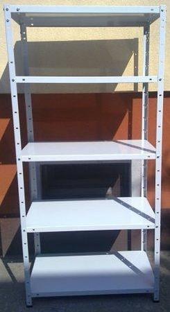 DOSTAWA GRATIS! 77170611 Regał metalowy, 6 półek (wymiary: 3000x900x500 mm, obciążenie półki: 100 kg)