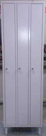 DOSTAWA GRATIS! 77170708 Szafa odzieżowa, 3 drzwi (wymiary: 2000x600x400 mm)