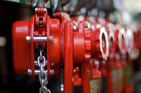 DOSTAWA GRATIS! 95872770 Wciągnik łańcuchowy dźwigniowy, rukcug, łańcuch Ogniwowy (udźwig: 3,2 T, wysokość podnoszenia: 1,5m) - z możliwością stosowania w zakładach górniczych