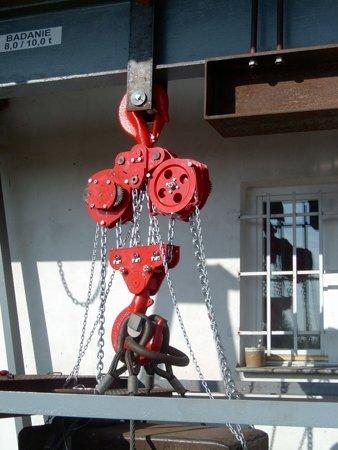 DOSTAWA GRATIS! 9588153 Wciągnik łańcuchowy stacjonarny (udźwig: 8,0 T, wysokość podnoszenia: 3m)