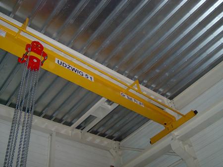 DOSTAWA GRATIS! 9588159 Wciągnik łańcuchowy przejezdny - z atestem ATEX (udźwig: 3,2 T, wysokość podnoszenia: 3m, zakres toru jeznego: 110-170 mm)