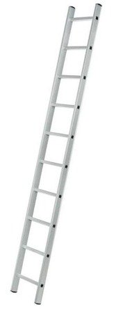 DOSTAWA GRATIS! 99674712 Drabina aluminiowa przystawna 1x14 (wysokość robocza: 5,10m)