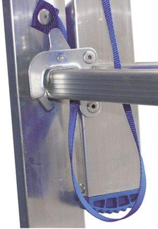 DOSTAWA GRATIS! 99674740 Drabina 2-elementowa aluminiowa Drabex 2x11 (wysokość robocza: 6,83m)