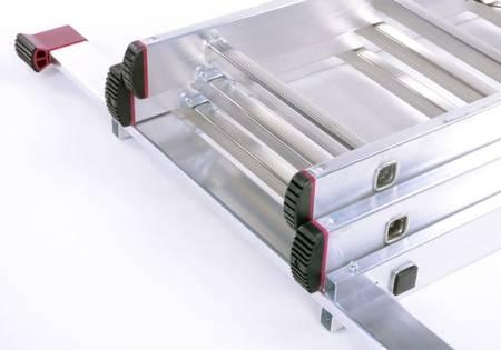 Drabina aluminiowa 3x11 KRAUSE CORDA (wysokość robocza: 7,25m) 99677129