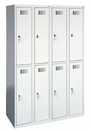 Gorek Szafa szafka ubraniowa bhp skrytkowa 8 komór (wymiary: 1800x1200x500 mm) 09276025
