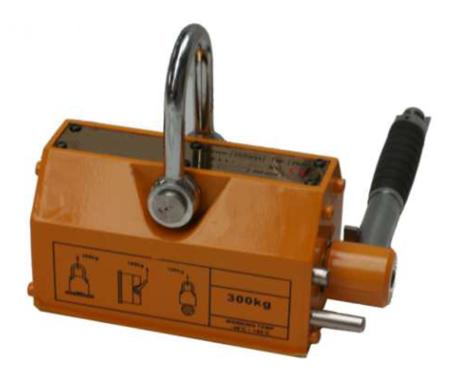 IMPROWEGLE Chwytak magnetyczny z magnesem stałym PKN 0,3 (udźwig: 0,3 T) 3398528