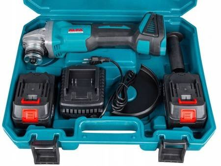 LETA Szlifierka kątowa akumulatorowa regulacja obrótow (maks. średnica tarczy: 125mm, moc: 36V/3.0Ah) 21777652