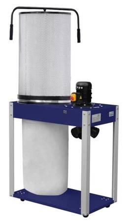 Odciąg do wiórów z filtrem pyłowym 230V (wydajność odsysania: 3200 m3/h, moc silnika: 1,5 kW) 02876776
