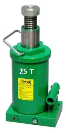 Podnośnik hydrauliczny jednotłokowy (wysokość podnoszenia min/max: 257/475mm, udźwig: 25T) 62776169