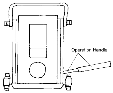 Podnośnik hydrauliczny niskoprofilowy (udźwig: 8 T, wysokość: 280 mm) 310657
