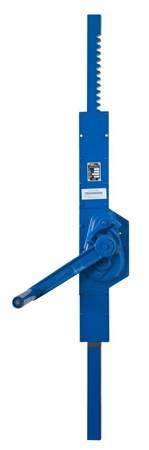 Podnośnik mechaniczny zębaty do kontenerów - wersja ścienna (udźwig: 5 T, wysokość: 605 mm) 22077078