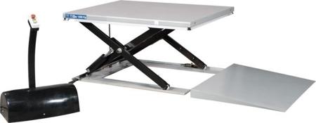 Stół podnośny niskoprofilowy (udźwig: 1000 kg, wymiary platformy: 1140x1450 mm, wysokość podnoszenia min/max: 85-680 mm) 310530