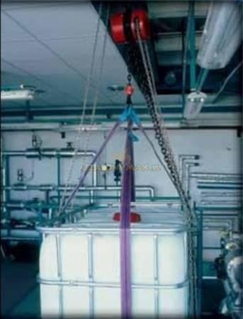 Wciągnik łańcuchowy z przekładnią planetarną - wersja przeciwwybuchowa (wysokość podnoszenia: 3m, udźwig: 1 T) 22077006