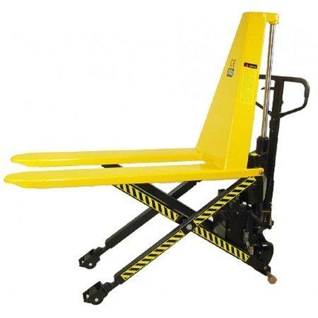 Wózek nożycowy elektryczny (udźwig: 1000 kg, długość wideł: 1150 mm, wysokość podnoszenia: 800 mm) 85076132