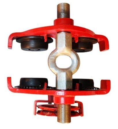 Wózek ręczny jezdny z łańcuszkiem i napędem (udźwig: 1,0 T, szerokość belki jezdnej: 160-300 mm, wysokość łańcucha manewrowego: 3m) 03076126