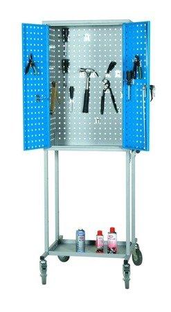 Wózek. szafka stalowa narzędziowa GermanTech (wymiary: 1800x600x400 mm) 99724947