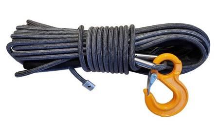 Wyciągarka Escape EVO 12000 lbs [5443 kg] EWB z liną syntetyczną 12V (lina: 10 mm w oplocie 25m 10400 kg +hak) 81877737