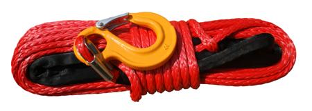 Wyciągarka Escape EVO 9500 lbs [4309 kg] IP68 z liną syntetyczną 12V (lina: 10 mm czerwona dyneema 28m 10400kg +hak) 81877769