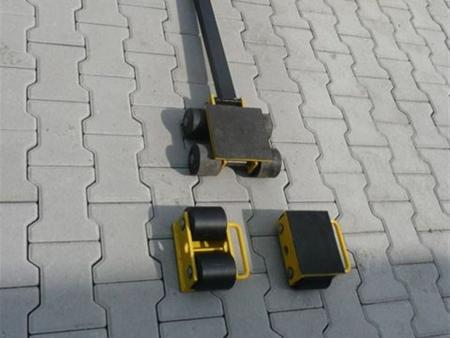 Zestaw wózków, rolki: 8x stal (nośność: 10 T) 12235617